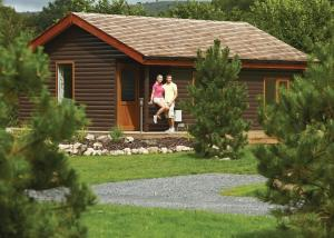 Meadow's End Lodges in Cartmel, Cumbria, England