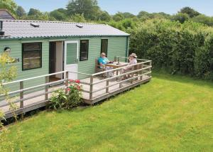 St Michaels Caravan Park in Berrington, Worcestershire, England