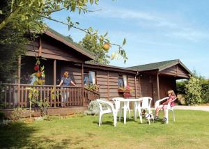 Wayside Lodges in Lacock, Wiltshire, England