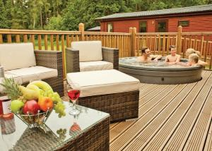 Bainland Lodges in Woodhall Spa, Lincolnshire, England