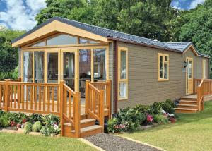 Wigmore Lakes Lodges in Cardeston, Shropshire, England