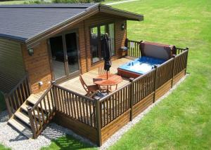 Wighill Manor Lodges in Tadcaster, North Yorkshire, England