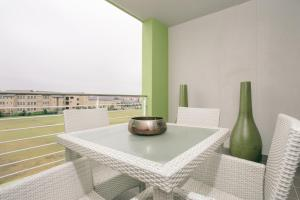 Apartment mit Terrasse