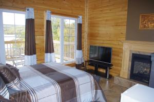 Superior Double Room with Lake View / Fireplace 1