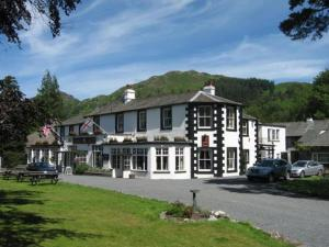 Scafell Hotel in Borrowdale Valley, Cumbria, England