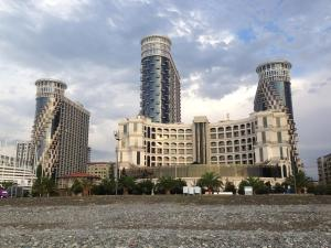 Photo of Sea Towers Orbi Front View Batumi Apartments