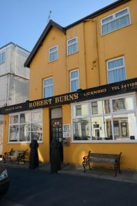 Robert Burns in Blackpool, Lancashire, England