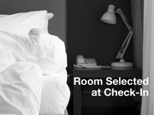Room Selected at Check-In with Shared Bathroom