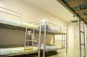 One bed in an 8-bed shared dormitory