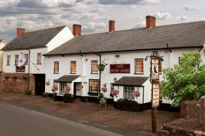 The Hood Arms Hotel in Kilve, Somerset, England