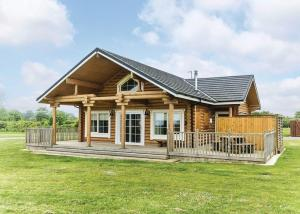 Hornsea Lakeside Lodges in Hornsea, East Riding of Yorkshire, England