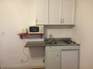 Room with Kitchenette and Street View
