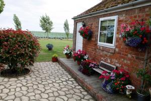 Sunset House in Friskney, Lincolnshire, England