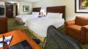 Queen Room with Two Queen Beds and Roll-In Shower - Disability Access/Non-Smoking