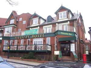 The Waverley Hotel in Felixstowe, Suffolk, England