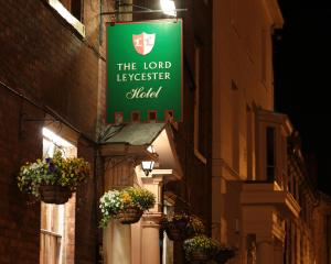 Lord Leycester Hotel in Warwick, Warwickshire, England