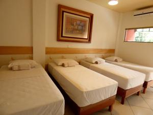 Quadruple Room with 4 Single Beds