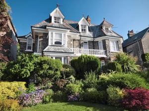 Victoria Lodge in Lynton, Devon, England