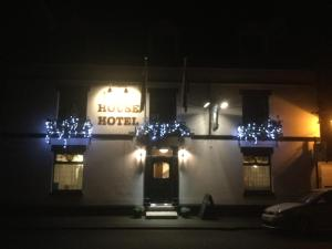 The Buck Hotel in Bangor-is-y-coed, Wrexham, Wales