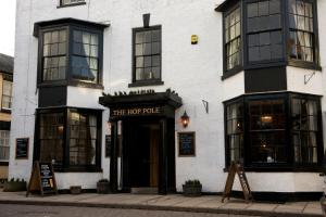 The Hop Pole Hotel in Bromyard, Herefordshire, England
