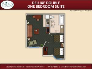 Double Villa with Two Double Beds