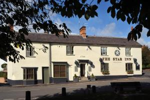 The Star Inn 1744 in Thrussington, Leicestershire, England
