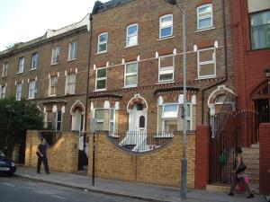 St. Thomas Road N4 in London, Greater London, England