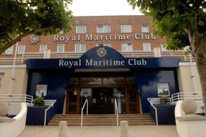 Royal Maritime Club in Portsmouth, Hampshire, England