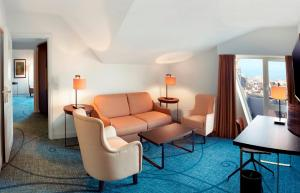 Suite med 1 soverom og adgang til Executive Lounge
