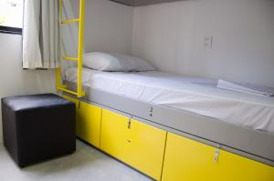 Bed in 9-Bed Female Dormitory Room