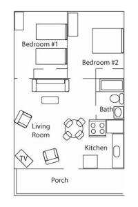 Deluxe Two-Bedroom Apartment (4 Adults + 2 Children)