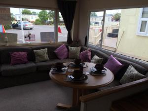 Waterside Caravan in Southminster, Essex, England
