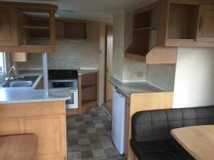 Martello Caravan in Clacton-on-Sea, Essex, England
