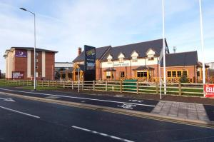 Premier Inn Burton On Trent Central in Burton upon Trent, Staffordshire, England