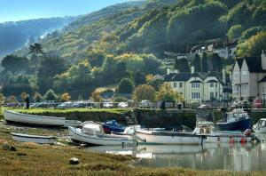 The Cafe at Porlock Weir With Rooms in Porlock, Somerset, England