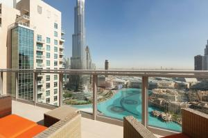 Penthouse Apartment with Burj/Fountain View
