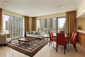 Two Bedroom Suite with Burj/ Fountain View