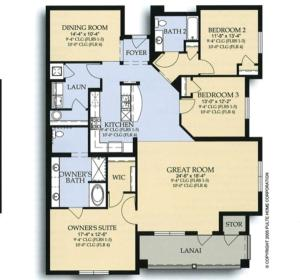 Three-Bedroom Apartment