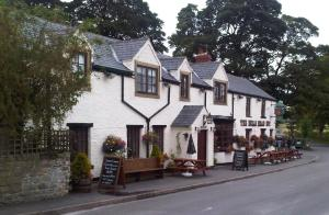 The Bulls Head Inn in Hucklow, Derbyshire, England