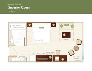 Superior Queen Room with View