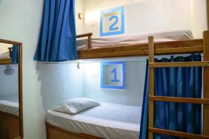 Single Bed in 10-Bed Dormitory Room with Shared Bathroom