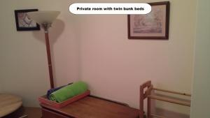 Double Room with Bunk Beds & Shared Bathroom