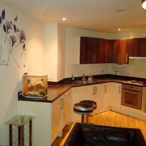 Canary Wharf View Apartment in London, Greater London, England