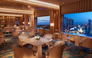 Quarto King ou Twin Club com Vista Marina Bay