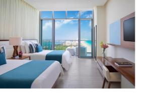 Preferred Club Deluxe Ocean View Double Beds