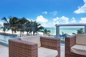 Marenas Oceanfront Two Bedroom Penthouse with Terrace
