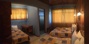 Family Room with 2 Double Beds and 1 Single Bed