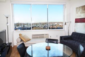 One Bedroom Apartment with Statue of Liberty View