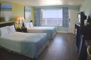 Double Room With Two Double Beds - Gulf Side