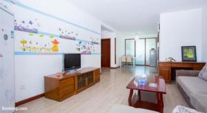 Qingdao Golden Beach Sihaiju Seaview Apartment Diwei Garden Branch, Apartmány  Huangdao - big - 4